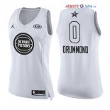 2018 All Star - Maillot Femme NBA Andre Drummond 0 Blanc