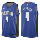 Orlando Magic - Maillot NBA Arron Afflalo 4 Bleu Icon 2017/2018