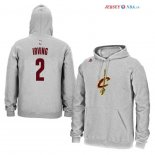 Cleveland Cavaliers - Sweat Capuche NBA Kyrie Irving 2 Gris