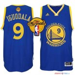 Golden State Warriors - Maillot NBA Iguodala 9 Bleu Finales