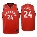 Toronto Raptors - Maillot Junior NBA Norman Powell 24 Rouge Icon 2018