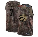 Toronto Raptors - Maillot NBA Kyle Lowry 7 Camo Swingman Collection Realtree 2018