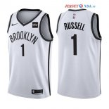 Brooklyn Nets - Maillot NBA D'Angelo Russell 1 Blanc 2017/2018