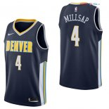 Denver Nuggets - Maillot NBA Paul Millsap 4 Marine Icon 2017/2018