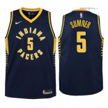Indiana Pacers - Maillot Junior NBA Edmond Sumner 5 Marine Icon 2018