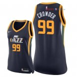 Utah Jazz - Maillot Femme NBA Jae Crowder 99 Marine Icon 2018