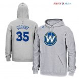 Golden State Warriors - Sweat Capuche NBA Stephen Curry 30 Gris