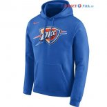 Oklahoma City Thunder - Sweat Capuche NBA Nike Bleu