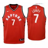 Toronto Raptors - Maillot Junior NBA Kyle Lowry 7 Rouge Icon 2018