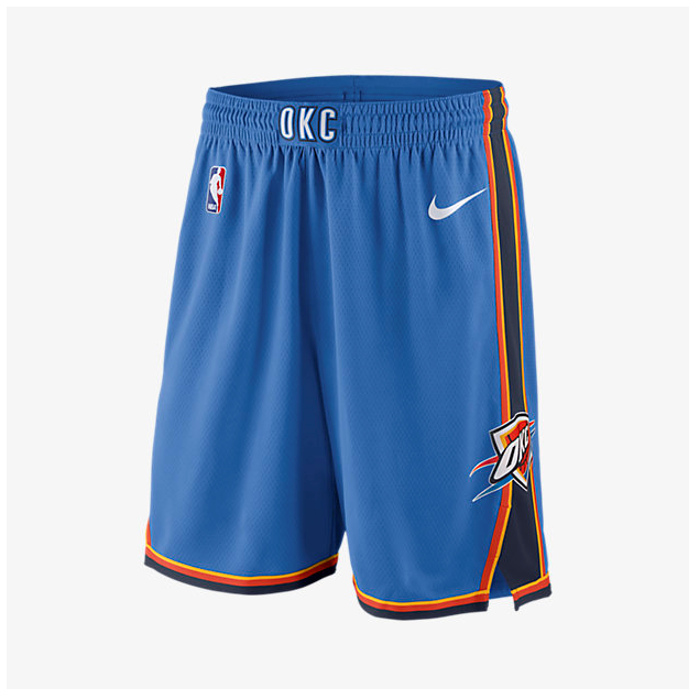 Oklahoma City Thunder - Pantalon NBA Bleu